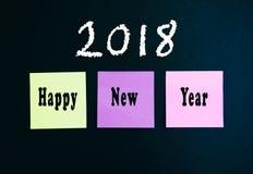 Feliz Año Nuevo 2018 Fotos de archivo
