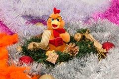 Feliz Año Nuevo, año del gallo Imagen de archivo