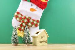 Feliz Año Nuevo Celebración festiva de la Navidad Foco selectivo Fotos de archivo libres de regalías