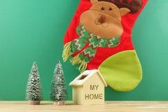 Feliz Año Nuevo Celebración festiva de la Navidad Foco selectivo Imagenes de archivo