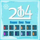 Feliz Año Nuevo creativa Foto de archivo libre de regalías