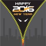 Feliz Año Nuevo de Batman Foto de archivo libre de regalías