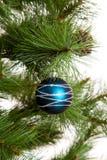 Feliz Año Nuevo de las decoraciones del árbol de navidad Fotos de archivo libres de regalías