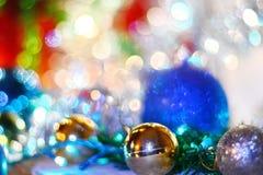 Feliz Año Nuevo 2018 Decorationm de la Navidad Imágenes de archivo libres de regalías