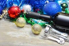 Feliz Año Nuevo 2018 Decorationm de la Navidad Foto de archivo libre de regalías