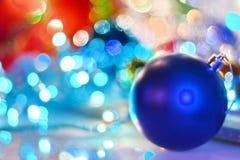 Feliz Año Nuevo 2018 Decorationm de la Navidad Fotos de archivo libres de regalías