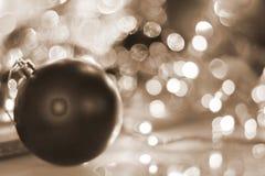 Feliz Año Nuevo 2018 Decorationm de la Navidad Imagen de archivo