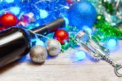 Feliz Año Nuevo 2018 Decorationm de la Navidad Foto de archivo