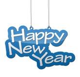 Feliz Año Nuevo del fondo Fotografía de archivo