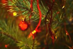 Feliz Año Nuevo del fondo de la tarjeta Imagen de archivo
