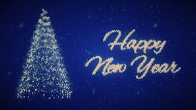Feliz Año Nuevo del suéter de la Navidad Introducción de la Nochebuena stock de ilustración