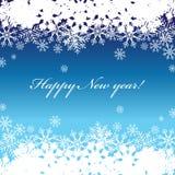 Feliz Año Nuevo, fondo Imagen de archivo