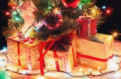 ¡Feliz Año Nuevo 2017! Fondo atmosférico Fotografía de archivo libre de regalías