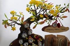 Feliz Año Nuevo, fondo del tet de Vietnam Fotos de archivo