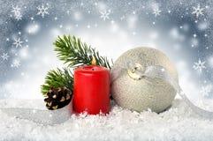 Feliz Año Nuevo La Navidad Foto de archivo libre de regalías