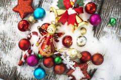 Feliz Año Nuevo, la Navidad, Feliz Navidad Foto de archivo