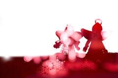 Feliz Año Nuevo, la Navidad, Feliz Navidad Imagen de archivo libre de regalías