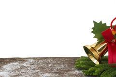 Feliz Año Nuevo, la Navidad, Feliz Navidad aislada en el fondo blanco Imágenes de archivo libres de regalías