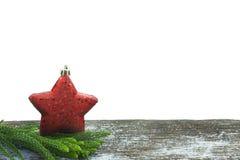 Feliz Año Nuevo, la Navidad, Feliz Navidad en el fondo blanco Imagen de archivo libre de regalías