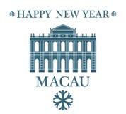 Feliz Año Nuevo Macao libre illustration