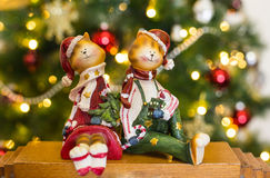 Feliz Año Nuevo y feliz Christmass Foto de archivo