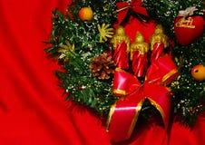 Feliz Año Nuevo y Feliz Navidad Imagenes de archivo