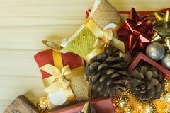 Feliz Año Nuevo y fondo de la imagen de la celebración de la Navidad fotos de archivo libres de regalías