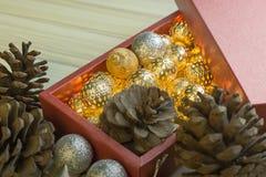 Feliz Año Nuevo y fondo de la imagen de la celebración de la Navidad imagen de archivo libre de regalías
