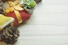 Feliz Año Nuevo y fondo de la imagen de la celebración de la Navidad imagen de archivo