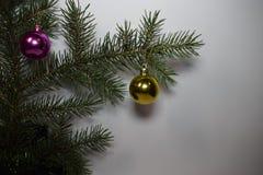 Feliz Año Nuevo y la Navidad Fotografía de archivo libre de regalías