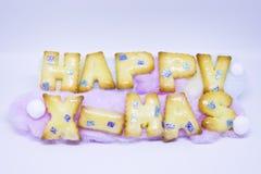 Feliz Año Nuevo y Feliz Navidad Imágenes de archivo libres de regalías