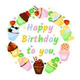 Feliz aniversário Foto de Stock Royalty Free