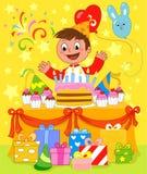 Feliz aniversario! ilustração stock