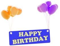 Feliz aniversario Imagem de Stock