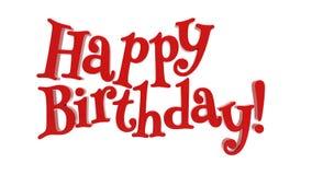 Feliz aniversario Fotos de Stock Royalty Free
