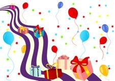 Feliz aniversario ilustração do vetor