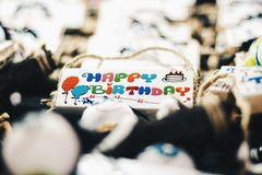 Feliz aniversario fotos de stock royalty free