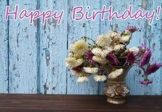 Feliz aniversario Fotografia de Stock