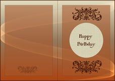 Feliz aniversario do cartão Imagens de Stock Royalty Free