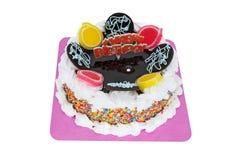 Feliz aniversario do Torte imagens de stock