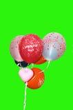 Feliz aniversario dos balões fotos de stock