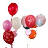 Feliz aniversario dos balões foto de stock royalty free
