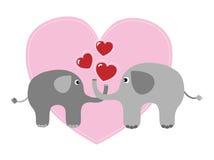 Feliz aniversario ou dia de Valentim Imagem de Stock Royalty Free
