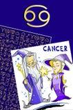Feliz aniversario - sinal do zodíaco Foto de Stock Royalty Free