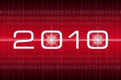 Feliz Año Nuevo 2010 Imagenes de archivo