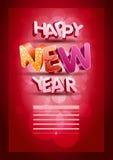 Feliz Año Nuevo Fotografía de archivo libre de regalías