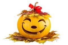 Feliz calabaza para Halloween Imágenes de archivo libres de regalías
