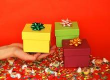 Feliz celebración del cumpleaños Imágenes de archivo libres de regalías