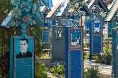 Feliz cementerio Imagen de archivo libre de regalías