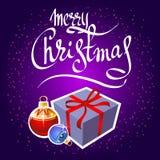 Feliz christmas-12 Fotos de archivo libres de regalías